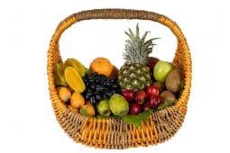 סלסלת פירות שלמים