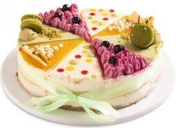עוגת יום הולדת קרוסלה